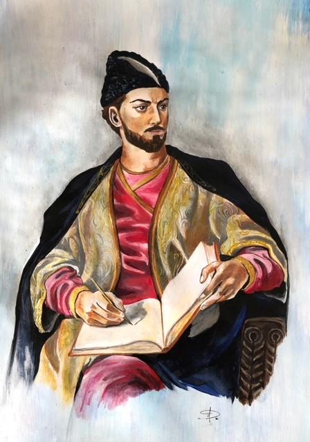 """Shota Rustaveli was a medieval Georgian poet."""